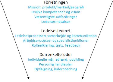 samarbejde i ledergruppe